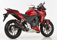 Pot déchappement HURRIC PRO2 BLACK EDTION HONDA CB500 X...