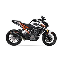 Echappement IXIL RC1 BLACK EDITION KTM DUKE 125  17-20